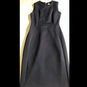 Black Calvin Klein Casual Dress- Midi Dress